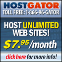 HostGator: Host Unlimited Websites!